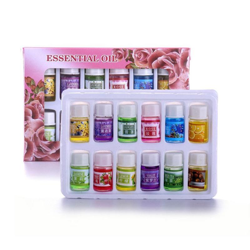 Ätherische Öle Für Aromatherapie Diffusoren Massage Düfte Öl Aroma Öle Rose Lavendel Zitrone helfen Schlaf Ätherisches Öl