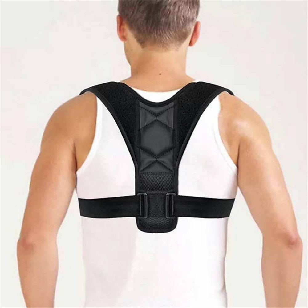 Adjustable Back Support Belt Back Posture Corrector Shoulder Back Support Belt Lumbar Braces Belt Shoulder Posture Correction