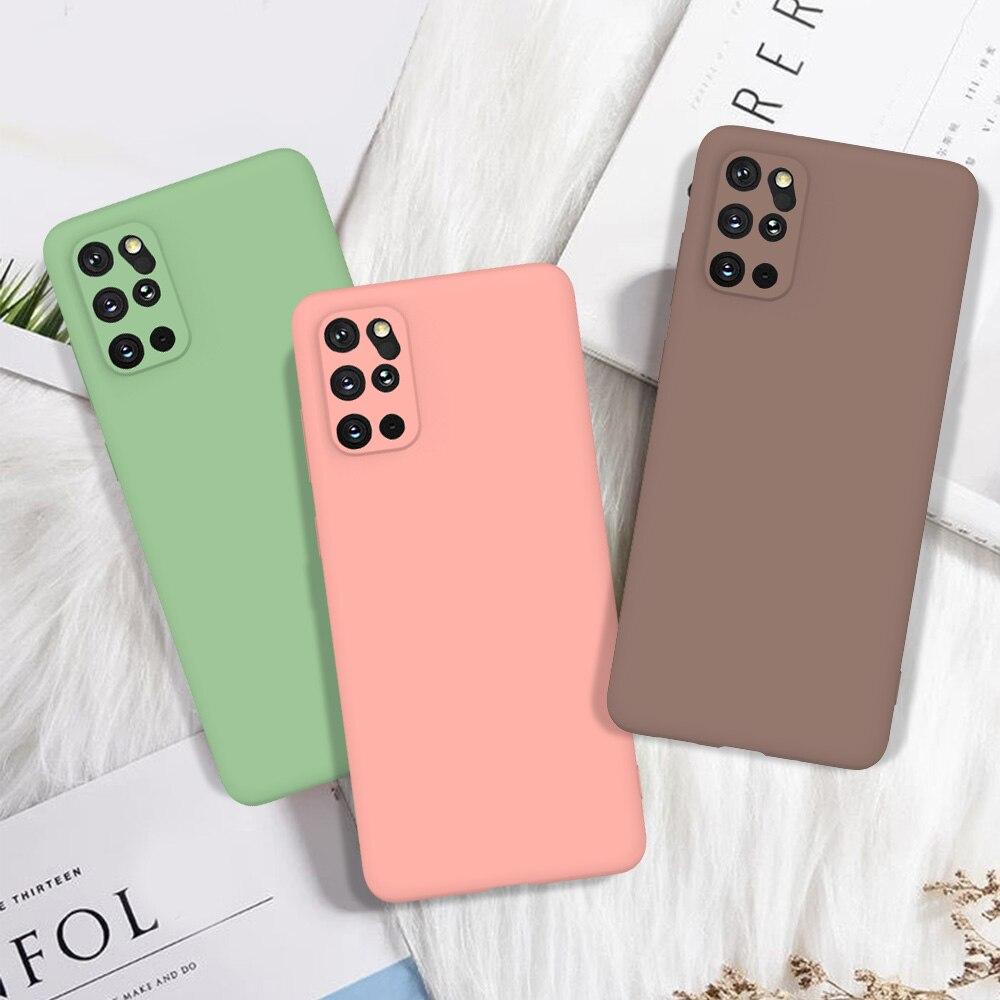 Soft Silicone Case For Samsung Galaxy A51 A71 A81 A91 A01 A21 A10 A20 A30 A40 A50 A60 A70 A30S A50S TPU Solid Color Matte Cover