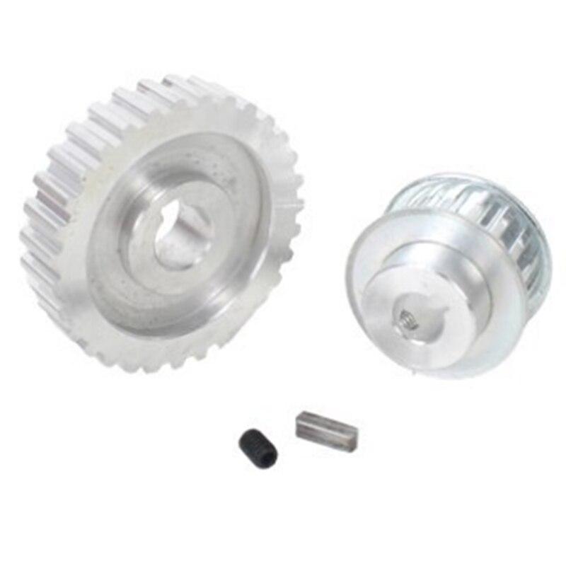 18 pièces/ensemble CJ0618 engrenages en métal Mini tour engrenage Machine-outil de découpe en métal - 4