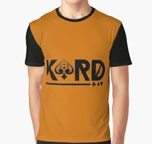 All Over Print 3D Tshirt Kard Volledige Print Grote print Grafische T-shirt(China)