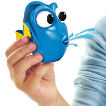 Nemo Dory Float Spray Water Squeeze Toys Baby Bath Toys Finding Soft Rubber Bathroom Play Animals Bath Figure Toy for Children цена и фото