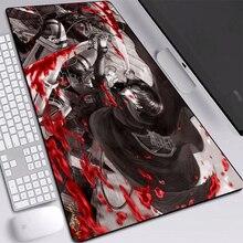 Аниме коврики мыши нападение на Титан коврик для мыши рабочего стола с подогревом на заказ с нашитыми по краям клавиатуры 900x400mm стол коврик