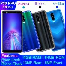 Оригинальные смартфоны P30 PRO, 4 Гб ОЗУ, 64 Гб ПЗУ, Android, распознавание лица, разблокированный мобильный телефон 13 МП, мобильные телефоны P35, мини-телефоны