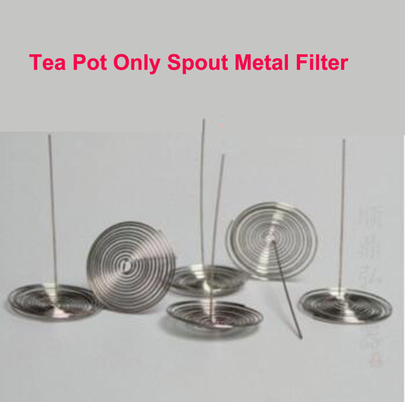 Glass Teapot Accessories Tea Pot Only Spout Metal Filter Stainless Steel Spring Can Replace Inner Wearing