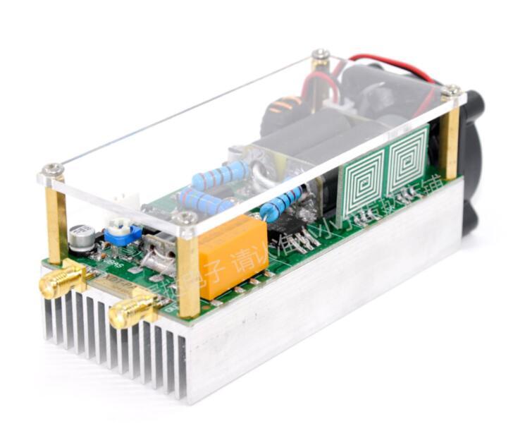 3~30Mhz 100w Shortwave Power Amplifier HF Amplifier RF For QRP FT817 KX3 /Xiegu X5105 G90S G1M/KN-Q10+ Acrylic Case + Fan