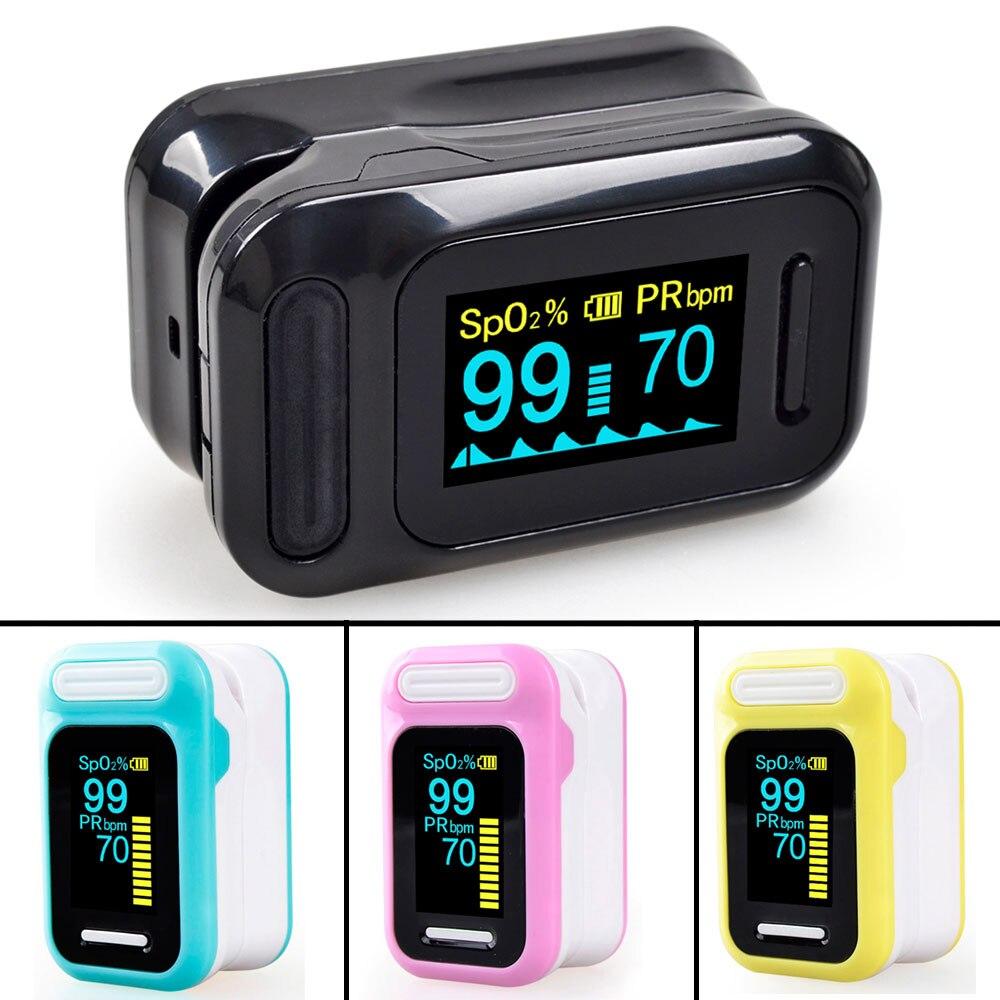 Elera portátil dedo oxímetro de pulso oxigênio no sangue saturação medidor fingertip pulsoximeter spo2 monitor oximétrico dedo