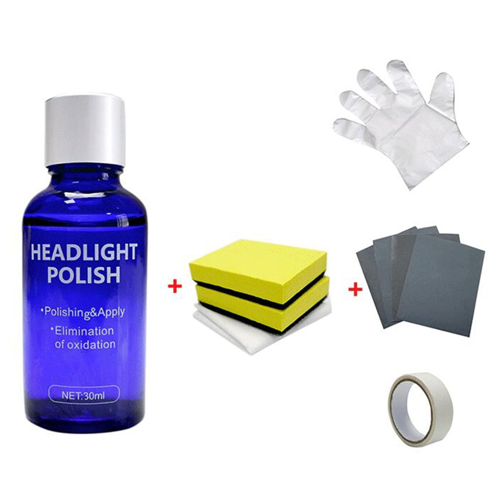10ML/30ML Car Headlights Liquid Repair Agent Ceramic Coat Super Hydrophobic Glass Coating Polishing Coating Liquid Repair Tool