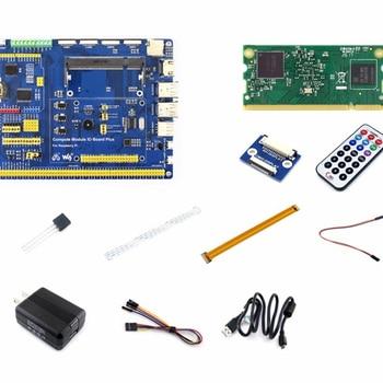 цена на Pi Compute Module 3 Development Kit Type A with Compute module 3, DS18B20, Power Adapter, Pi Zero Camera cable