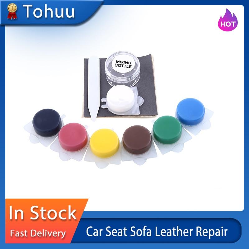 Leather Repair Kit | Liquid Skin Auto Car Seat Sofa Leather Repair Coats Holes Scratch Tools Liquid Leather Vinyl Repair Kit Car Sofa Holes Repairing