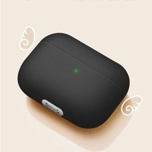Image 2 - ซิลิโคนสำหรับ Airpods Pro แบบเรียบง่ายพิมพ์ลายป้องกันหูฟังสำหรับ Air Pods Pro 3หูฟัง Airpods Fundas