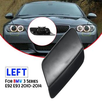 Left 61677253393/Right 61677253394 Front Bumper Headlight Lamp Washer Jet Nozzle Cover Cap For Bmw 3 E92 E93 2010-2014 image