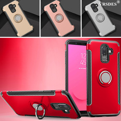 Stand Shockproof Finger Ring Cover For Samsung Galaxy J8 J7 J6 J5 J4 Prime Plus J3 J2 Pro 2018 2017 2016 J730 J530 J330 EU J710