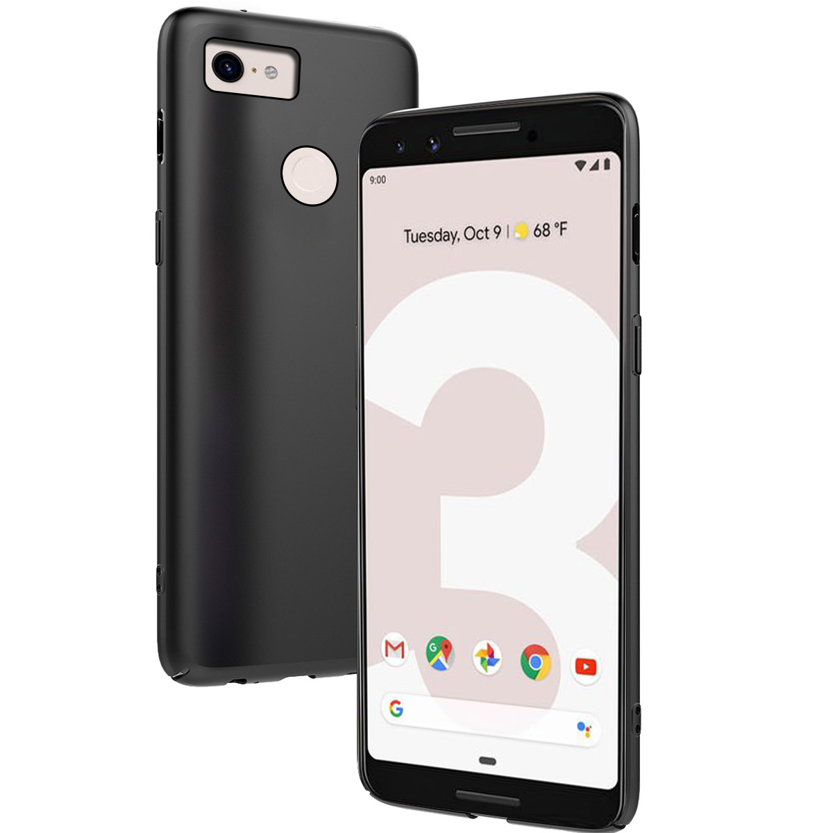 For Google Pixel 3 XL 3 2 Case Slim Shockproof Matte Soft TPU Silicone Protective Cover For Google Pixel 3A 3A XL 4 4 XL Case