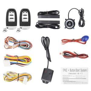 Image 2 - Auto Alarm Start Stop Taste Motor RFID Keyless Entry System Push Button Remote Starter Stop Auto