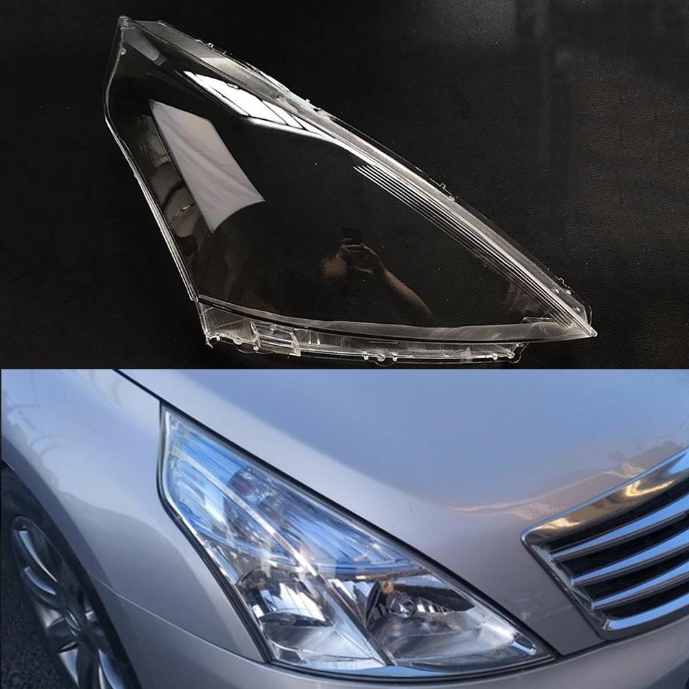 Car Headlight Lens For Nissan Teana 2008 2009 2010  Car Headlamp Lens Replacement   Auto Shell Cover