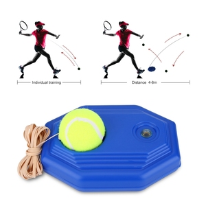 1pc Blue Plastic Racket Ball T