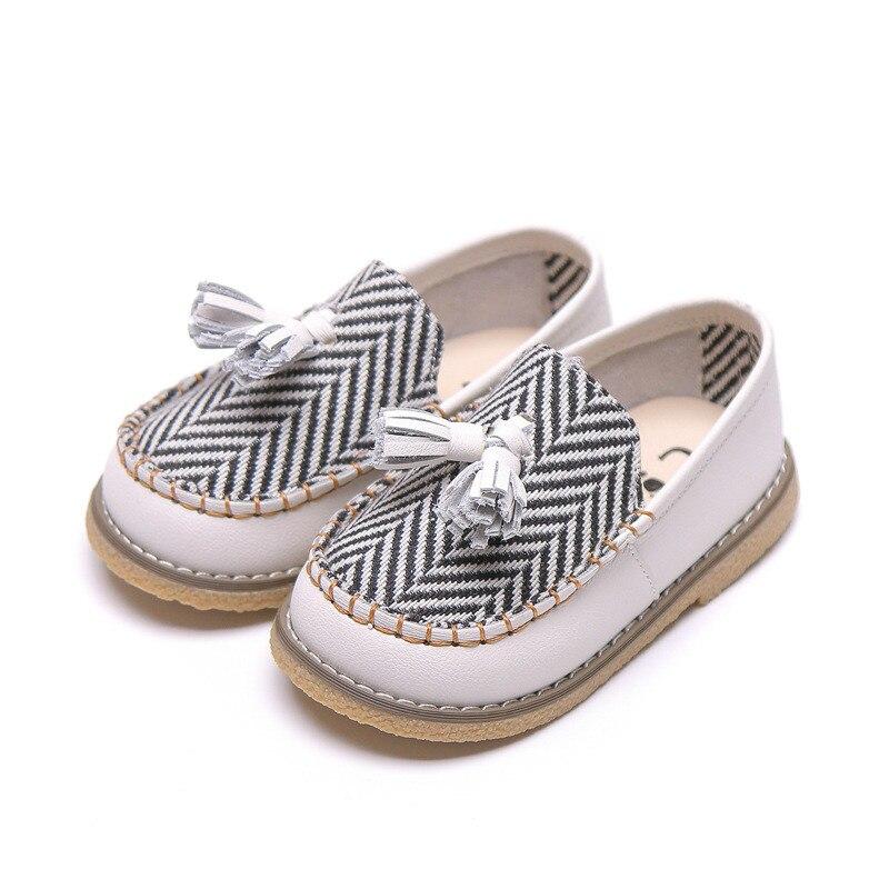 Slip on Boys Girls Casual Shoes Stripe
