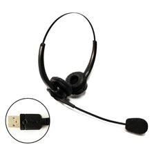 USB Noise Reduction Headset with Microphone Gooseneck Mic Call Center Headphones null cheap JINSHENGDA NONE Hybrid technology CN(Origin) Wired PU + ABS app 2m 78 74in Black