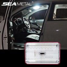 Plafonnier LED universel à 36 LED pour intérieur de voiture, lampe de lecture blanche, éclairage de coffre, veilleuse pour voiture 12V
