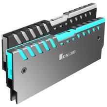 Jonsbo 2 шт. NC-2 памяти охлаждающий жилет оперативная память s Радиатор поддержка материнская плата AURA управление цвет RGB ram алюминиевый корпус кулера
