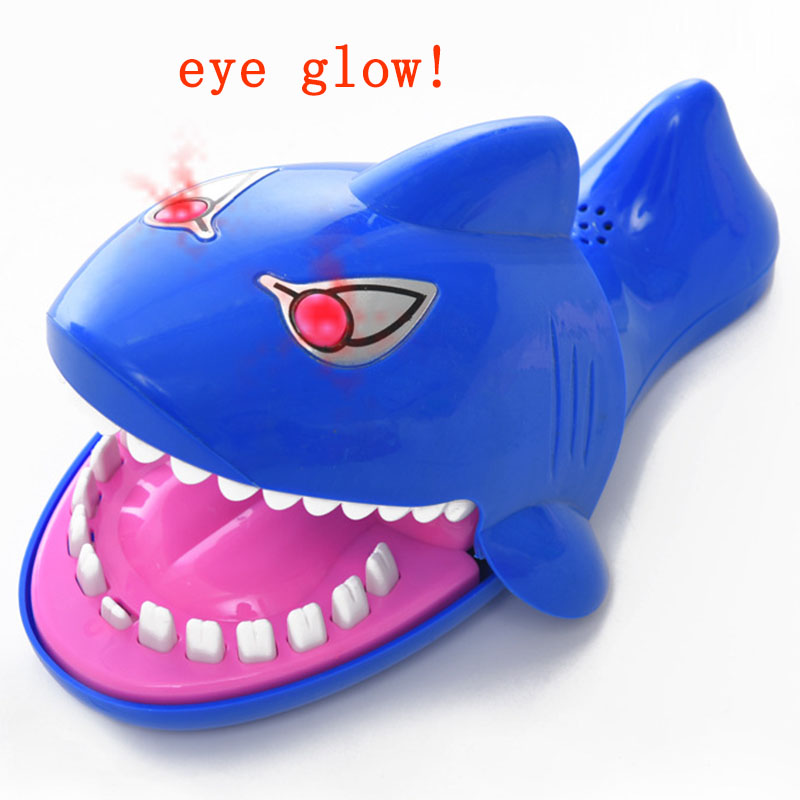 Hot Big Practical Joke Electric Biting Shark Bite Finger Selachimorpha Bar Game Kids Children Funny Gags Educational Toy Gift