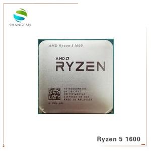 Image 4 - 새로운 AMD Ryzen 5 1600 R5 1600 3.2 GHz 6 코어 12 스레드 65W CPU 프로세서 YD1600BBM6IAE 소켓 AM4 쿨러 냉각 팬