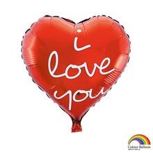 От производителя воздушный шар из фольги в форме сердца ко Дню Святого Валентина I Loveyou алюминиевая фольга свадебные украшения стены Джейн P