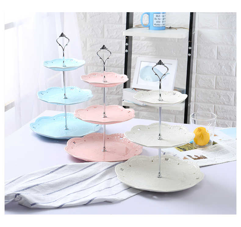 cake stand  Wedding Birthday Party Cake Plate Stand Sweets Tray dinner Display Tower  Sweets Candy Cupcake cake stand plate
