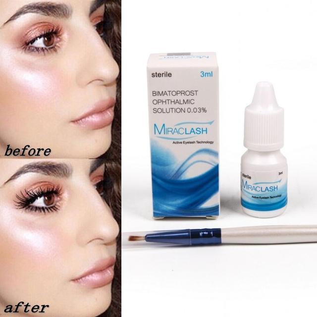 Eyelash growth eye serum eyelash enhancer thick eyelash lift eyebrow enhancer 1