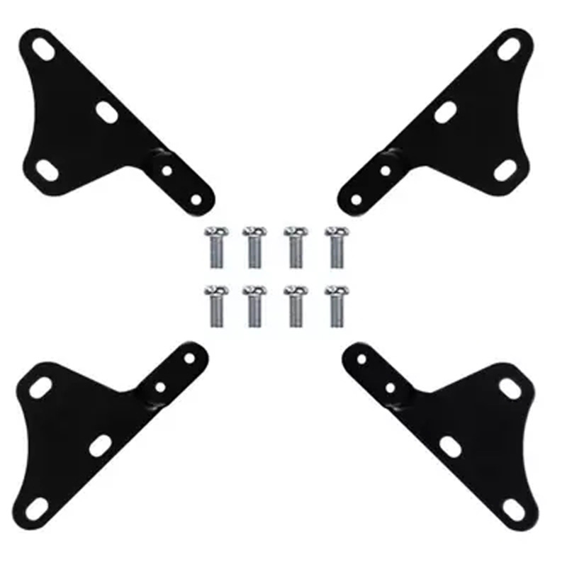 (1 set ) tv mount lcd bracket holder adaptor extension bar parts VESA100X100 to VESA 200X200