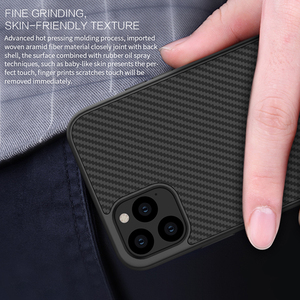 Image 4 - Case for iPhone 11 Pro Nillkin Synthetic Fiber Carbon PC Back Cover Ultrathin Slim Phone Case for iPhone 11 Pro Max 6.1/6.5 inch