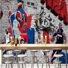Self-Adhesive Wallpaper Papel-De-Parede Bedroom Custom Personalized KTV Graffiti 3D Bar