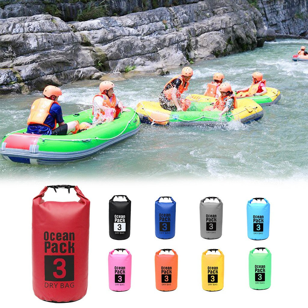 Waterproof Dry Bag Sack For Canoe Floating Boating Kayaking Camping