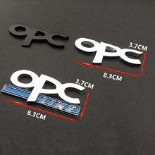 OPC קו סמל תג רכב סטיילינג מדבקות סמל קדמי גריל עבור אופל מוקה Corsa מריבת Zafira אסטרה J H G Vectra Antara ב