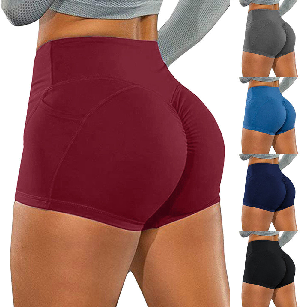 Women Basic Slip Bike Shorts Compression Workout Leggings Shorts Capris Shorts for Women Leggings Women Leggins Shorts Capris