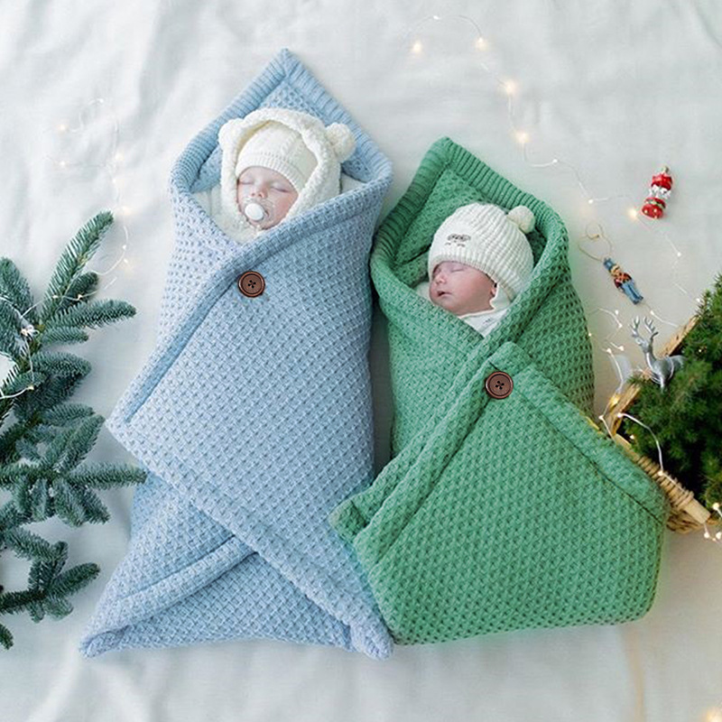 Baby Blanket Infant Cotton Envelop Swaddle Blanket For Newborn Baby Hooded Sleepsack Parisarc Bedding Blankets Baby Stuff