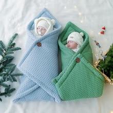 Baby Blanket Infant Cotton Envelop Swaddle Blanket For Newborn Baby Hooded Sleepsack Parisarc Bedding Blankets baby stuff недорого