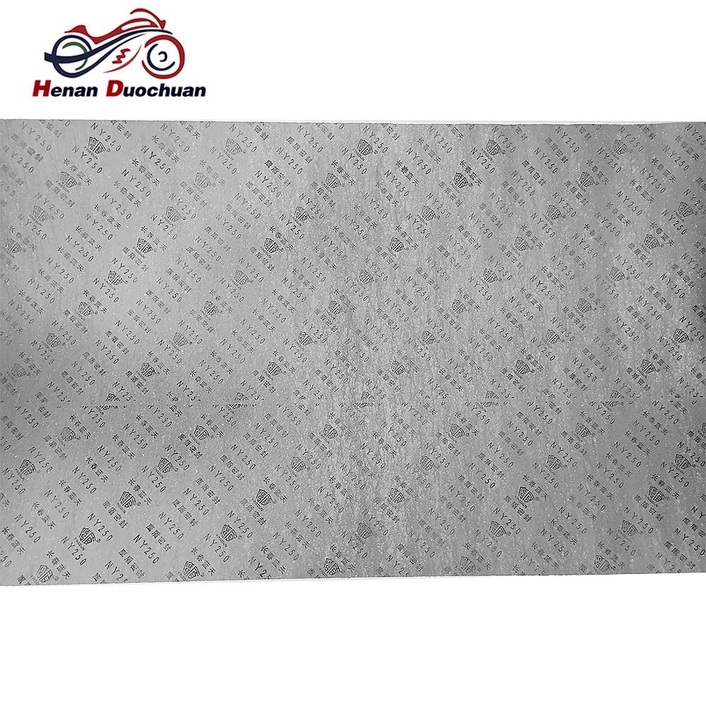 Универсальное уплотнение бензинового двигателя без утечки масла, прокладка, прокладка, бумага для HONDA, Suzuki, BMW, Kawasaki, Yamaha