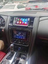 Автомагнитола на Android, мультимедийный плеер для Nissan патруль Y62 2014-2020, автомобильный DVD-плеер с GPS-навигацией, Стерео Авторадио, головное устро...
