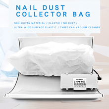 Dust-Collector Manicure-Suction-Machine Nail Ce for 3-Fans Bags Replacement-Bags Non-Woven