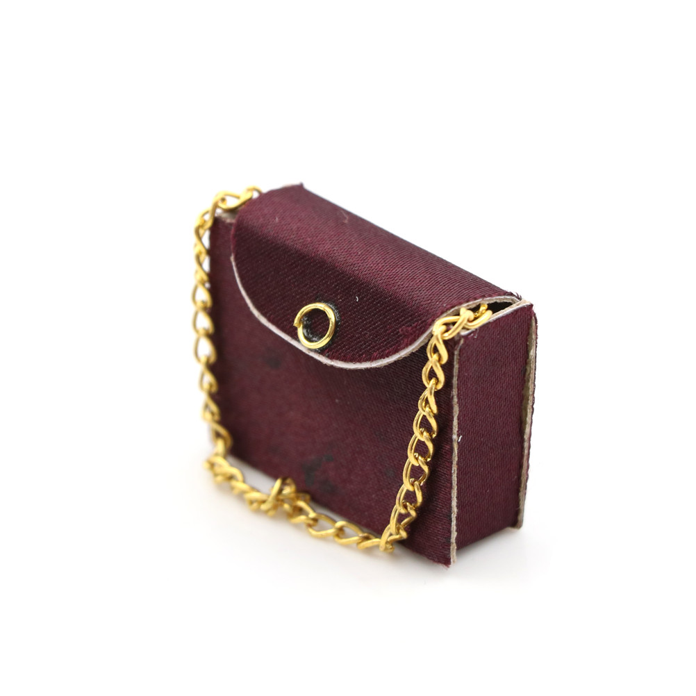 Fashion Womens Bag Miniature Model For 1:12 Dollhouse Accessory