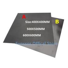 Funssor Große Druck Größe Magnetische Druck Bett Band Print Aufkleber Bauen Platte Band Flex Platte System