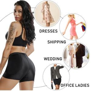 Image 5 - Amazing Seamless Women Shaper Butt Lifter Enhancer Padded Control Panties Boyshort Briefs Fake Ass Buttock Hip Pants Underwear