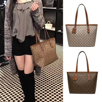 Classic fashion brand style casual tote MK women bags high quality PVC cowhide leather Monogram designer female bag