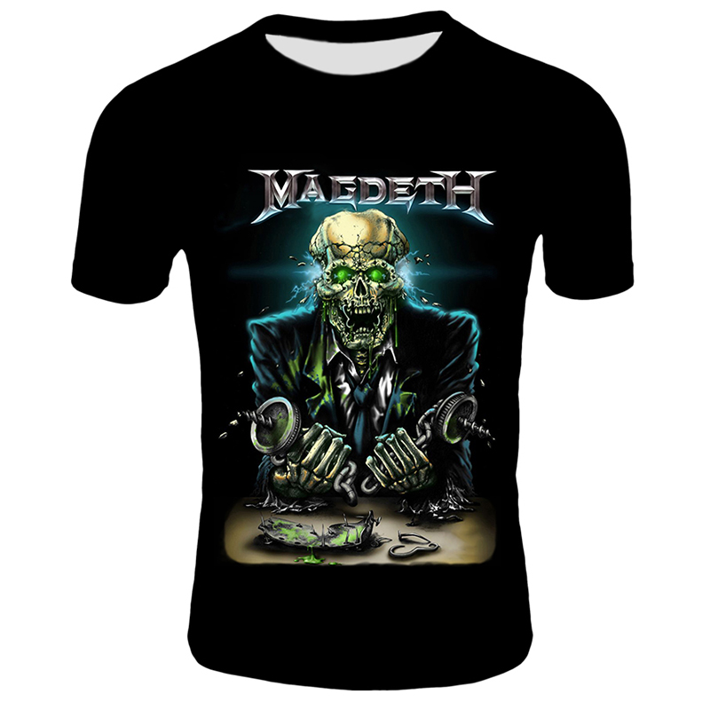 3D-Megadeth-T-shirts-Men-Fashion-Tops-Tees-Skull-Print-T-shirt-Men-Women-O-neck