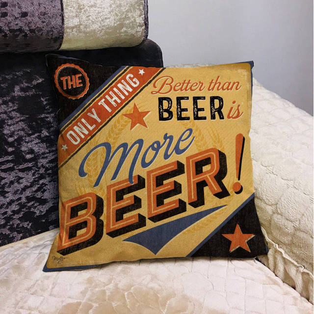 Beer Mancave Cushion Covers 10