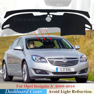 Dashboard Cover Protective Pad for Opel Insignia A 2008~2016 Car Accessories Dash Board Sunshade Carpet 2015 2014 2013 2012 2011