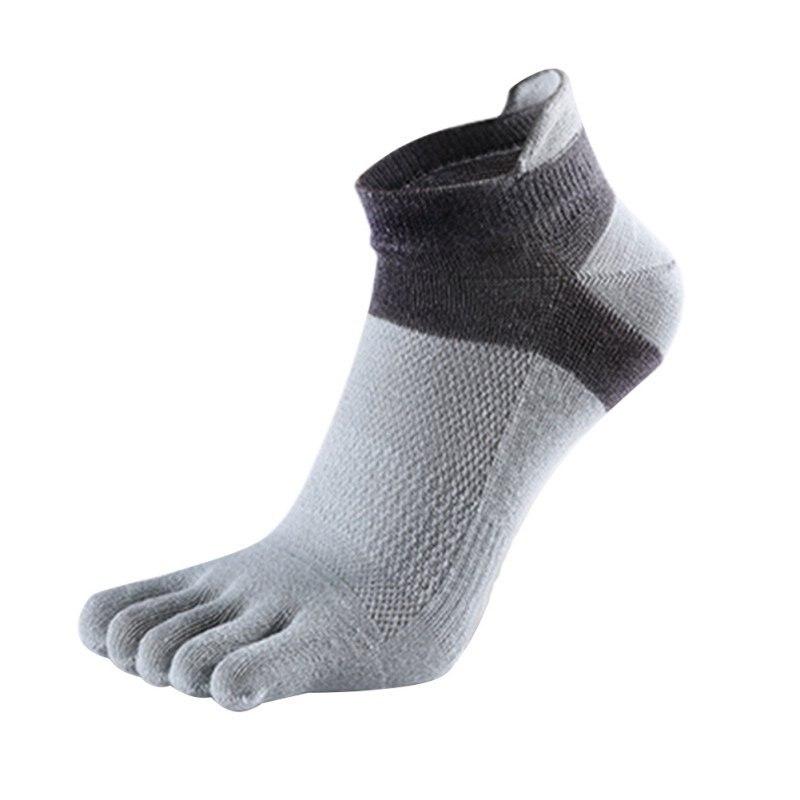 Men Socks Boys Cotton Finger Breathable Five Toe Socks Pure Sock Sport Antibacterial Breathable Men Sock Dropshipping
