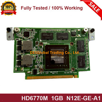 For ASUS N12E N53 N53SV N53E N53Y N53X HD6770M HD 6770M N12E-GE-A1 Laptop VGA Video Graphics Card Fully Tested Fast Shipping